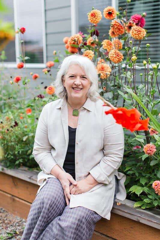 Slow Flowers Journal writer Debra Prinzing