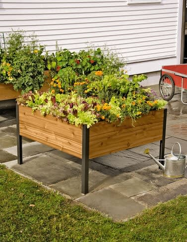 4' x 4' Elevated raised bed